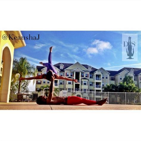dade2shelbyImagine all the people living life in peace. You may say I'm a dreamer, but I'm not the only one. I hope someday you'll join us, and the world will be as one. -John Lennon @keaushaj #RastaYogi #YogaWithKe #RawFitnessApparel #TemaVitaFlex #Iam1stPhorm #LegionOfBOOM #fitsporate #Orlando #Florida #training #physique #fitnessmodel #yoga #yogainspiration #namaste #yogaeverydamnday #yogaofcolor #OrlandoSentinel #acroyoga