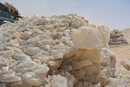 The Crystal Mountain in Egypt (Photos)
